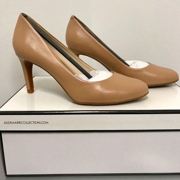 9bd9e3f192d Alex Marie Ella Heels in Ibiza Nude Leather